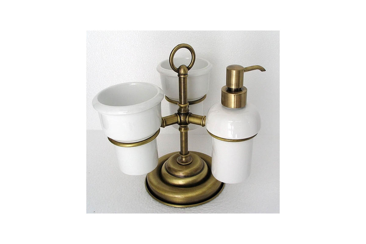 Accessori bagno in ottone bronzato termosifoni in ghisa for Accessori per bagno